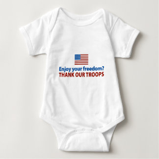 Enjoy Your Freedom? Thank Our Troops Shirt