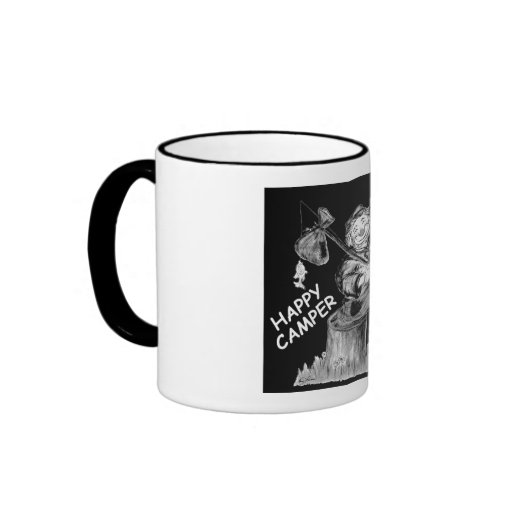 Enjoy your hot or cold drink when home or camping. ringer coffee mug