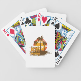Enjoy Your Journey Bicycle Playing Cards