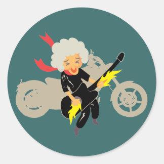 Enjoy your life classic round sticker