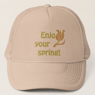 Enjoy your spring trucker hat