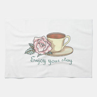 ENJOY YOUR STAY TOWELS