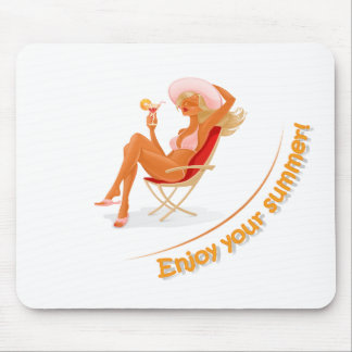 Enjoy your summer mouse pad