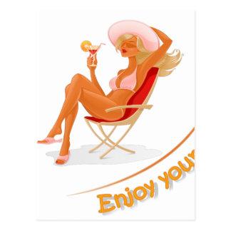 Enjoy your summer postcard