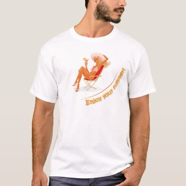 Beach Themed Enjoy your summer T-Shirt