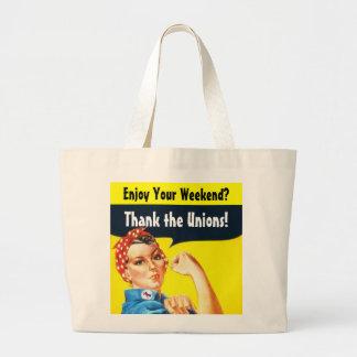 Enjoy Your Weekend? tote bag