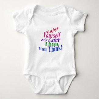 Enjoy Yourself! Baby Bodysuit