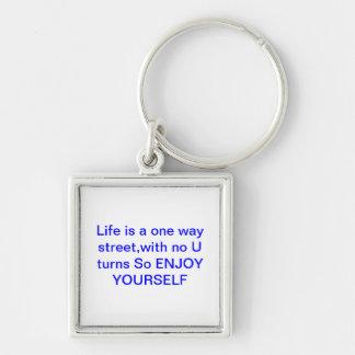 Enjoy yourself keychain