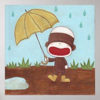 Enjoying A Rainy Day