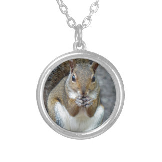 Enjoying a Treat Silver Plated Necklace