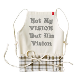 Enjoying Cooking with a vision Zazzle HEART Apron