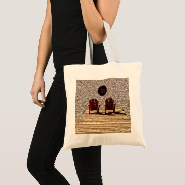 Beach Themed Enjoying Life At The Cottage Tote Bag