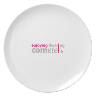 Enjoying the blog Commits the point Melamine Plate