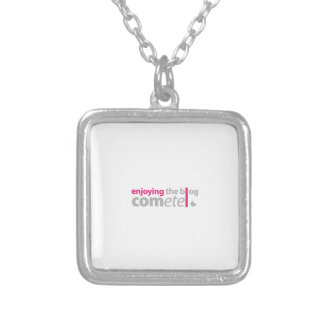 Enjoying the blog Commits the point Silver Plated Necklace