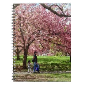 Enjoying the Cherry Trees Notebook