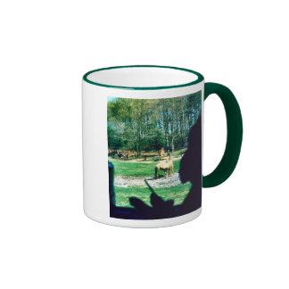 Enjoying the Ride Ringer Coffee Mug