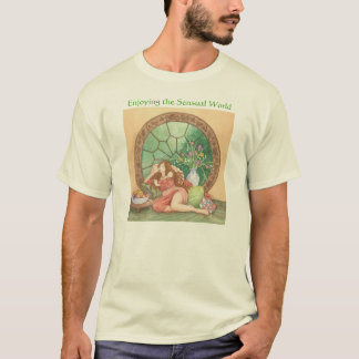 Enjoying the Sensual World - Taurus T-Shirt