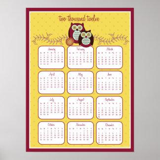 Enjoying the Sunshine 2012 Calendar Poster