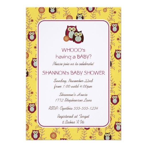 enjoying the sunshine baby shower invitation 5 x 7 invitation car