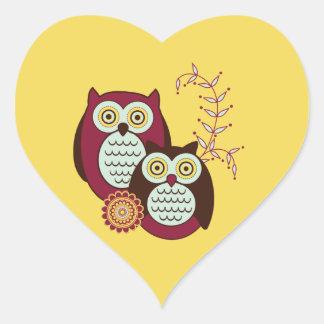 Enjoying the Sunshine Heart Sticker
