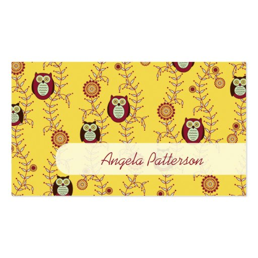 Enjoying the Sunshine Mommy Calling Cards Business Card Templates