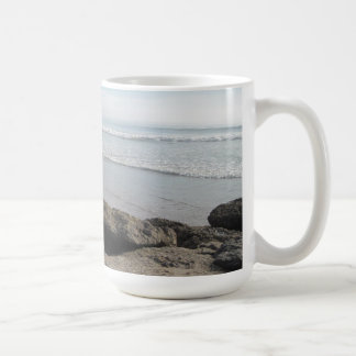 Enjoying the Surf  in Ventura Coffee Mug