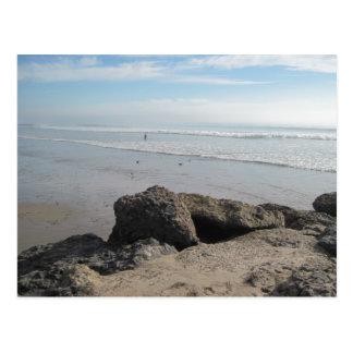 Enjoying the Surf  in Ventura Postcard