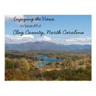 Enjoying the Views in Clay County North Carolina Postcards