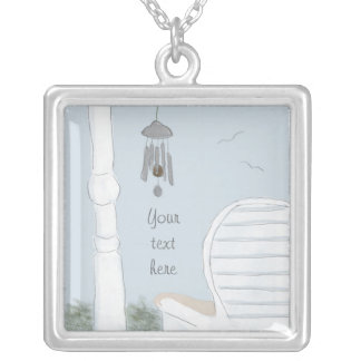 Enjoying the Wind Chimes Necklace