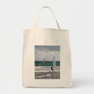 Enjoying the wind tote bag