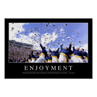 Enjoyment: Inspirational Quote Poster