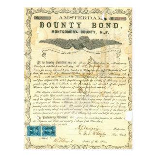 Enlace de la generosidad de la esclavitud de la postales