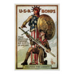 Enlaces de guerra de WWII Posters