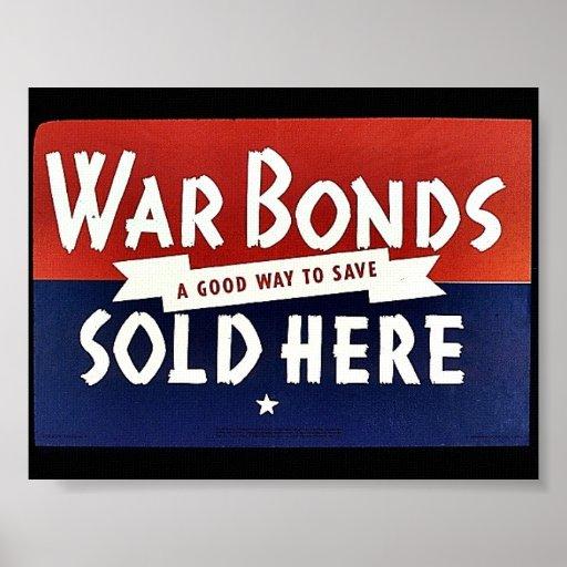 Enlaces de guerra vendidos aquí impresiones