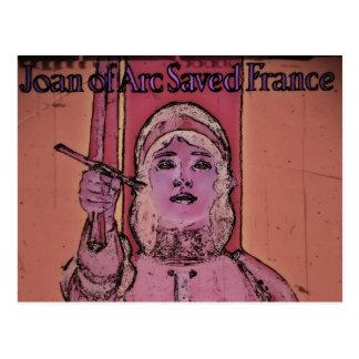 Enlaces de la compra de Juana de Arco WWII Postales