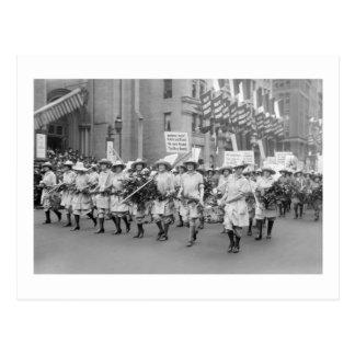 Enlaces de la venta WW1 de los Farmerettes, los añ Tarjetas Postales