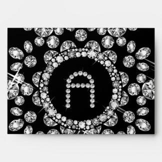 EnLarged Diamond Snowflake: A Envelopes