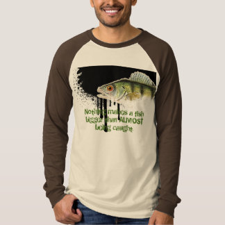 Enlarged Fish against a melting background T-Shirt
