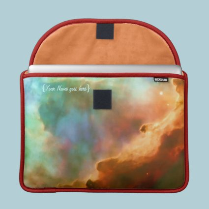 Enlarged Region of The Omega Nebula Sleeve For MacBooks