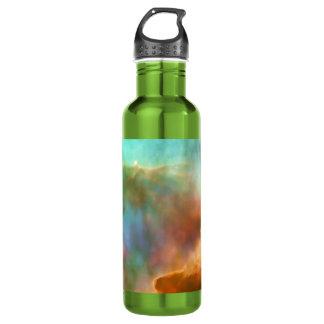 Enlarged Region of The Omega Nebula 24oz Water Bottle