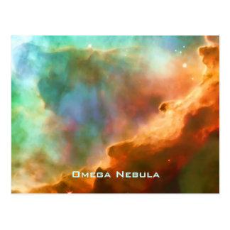 Enlarged Region of The Omega Nebula Postcard