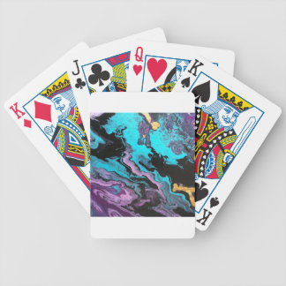 Enlighten abstract painting deck of cards