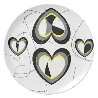 Enlighten Love Melamine Plate