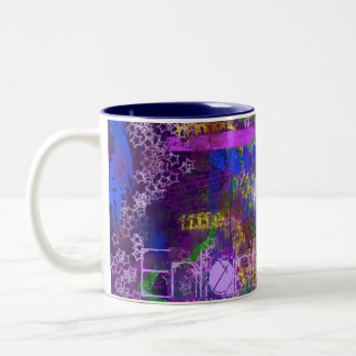 enlighten me... Two-Tone coffee mug