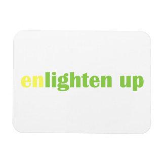 """Enlighten Up Magnet - 3"""" x 4"""""""
