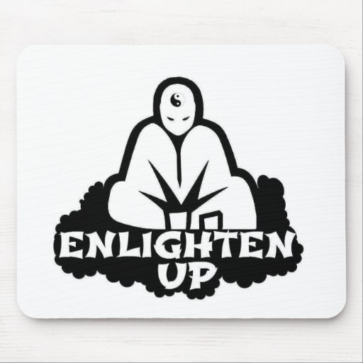 Enlighten Up Mouse Pad