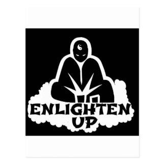 Enlighten Up Post Cards