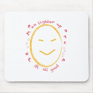 Enlighten Up Smiley Buddha Mouse Mats