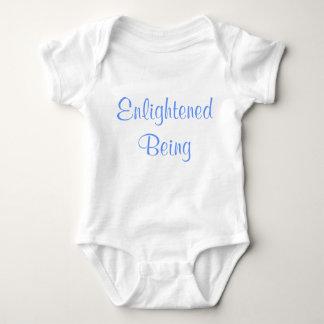 Enlightened Being funny baby onzie Baby Bodysuit