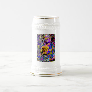 Enlightened Buddha Beer Stein